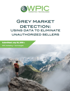 sing data to eliminate unauthorized sellers