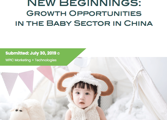 Growth Opportunities in the Baby Sector in China