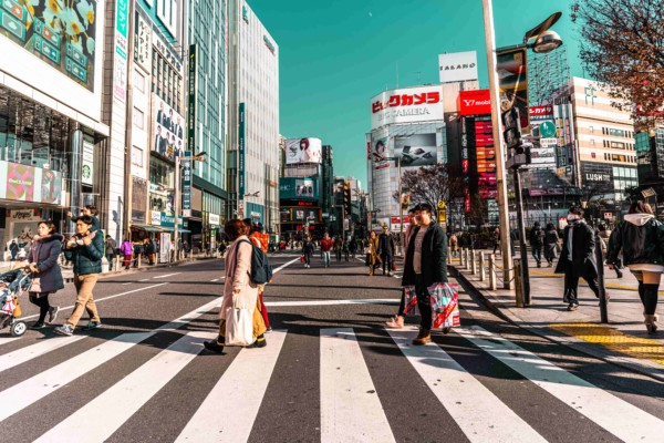 What is Rakuten and how does it compete with Amazon in Japan?