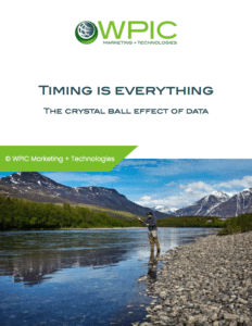 Timing is everything: The crystal ball effect of data