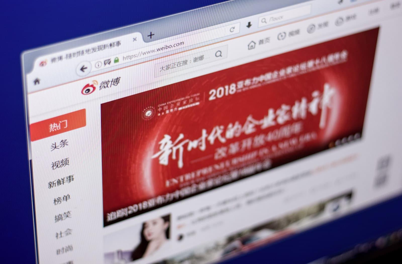 weibo market