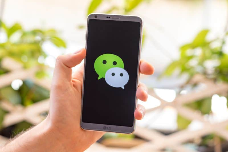 How can brands advertise on WeChat?