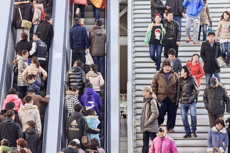 What sort of buying habits to Chinese consumers have?