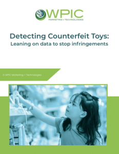 Detecting Counterfeit Toys: Leaning on data to stop infringements