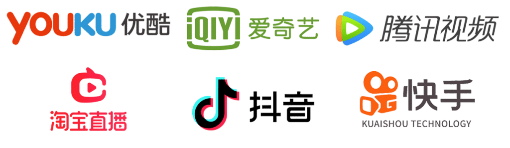 live stream logos