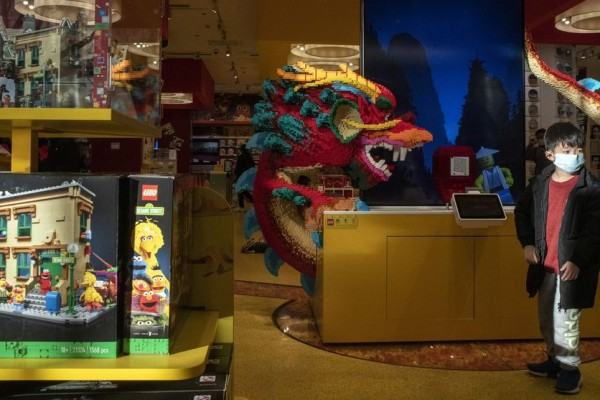 Bloomberg: Lego Bets on China's Children With Hundreds of New Stores
