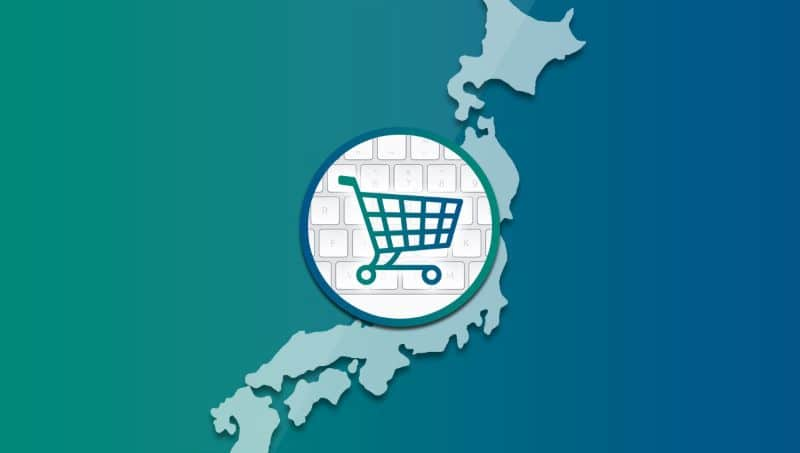 What are the top e-commerce platforms in Japan?
