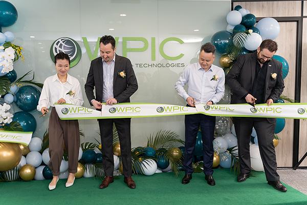 WPIC's office opening ceremony